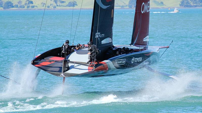 Emirates Team New Zealand - Waitemata Harbour - September 21, 2020 - 36th America's Cup - photo © Richard Gladwell / Sail-World.com