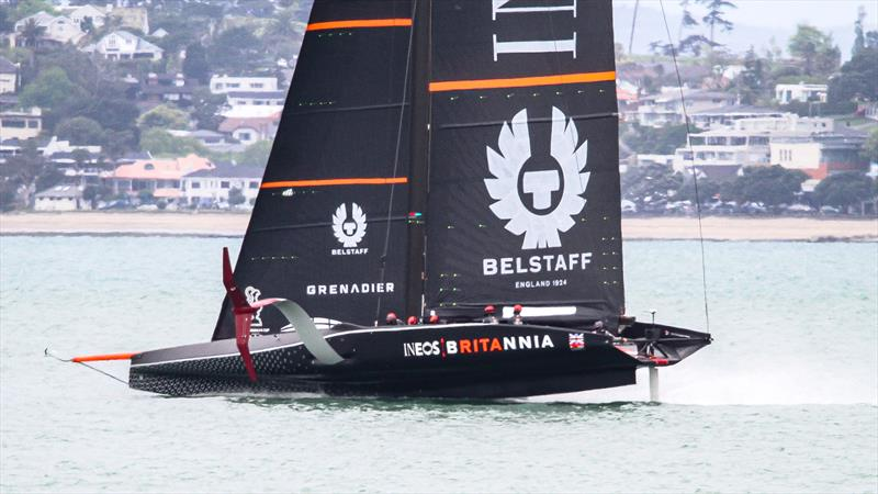 INEOS Team UK - Waitemata Harbour - October 29, 2020 - 36th America's Cup - photo © Richard Gladwell / Sail-World.com / nz