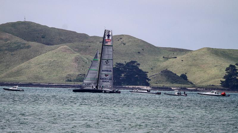 American Magic - Waitemata Harbour - October 29, 2020 - 36th America's Cup - photo © Richard Gladwell - Sail-World.com / nz