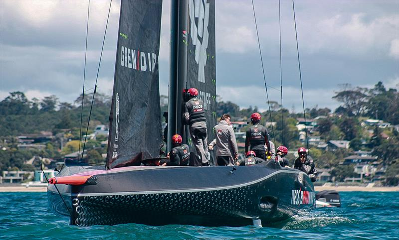INEOS Team UK - Waitemata Harbour - October 26, 2020 - 36th America's Cup - photo © Simon and Tanya Roberts