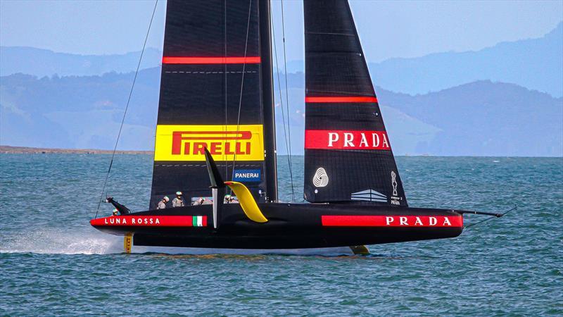 Luna Rossa Prada Pirelli - November 2, 2020 - Waitemata Harbour - Auckland - 36th America's Cup - photo © Richard Gladwell / Sail-World.com