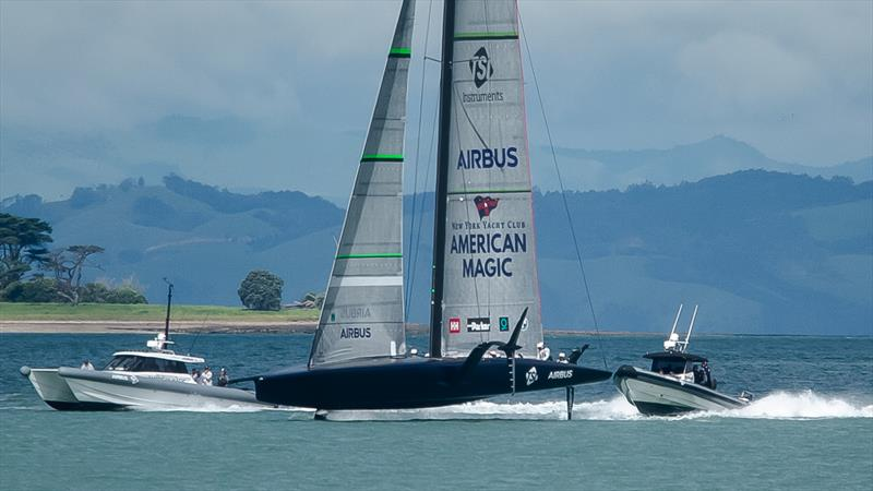 Patriot - American Magic - Waitemata Harbour - November 6, 2020 - 36th America's Cup - photo © Richard Gladwell / Sail-World.com
