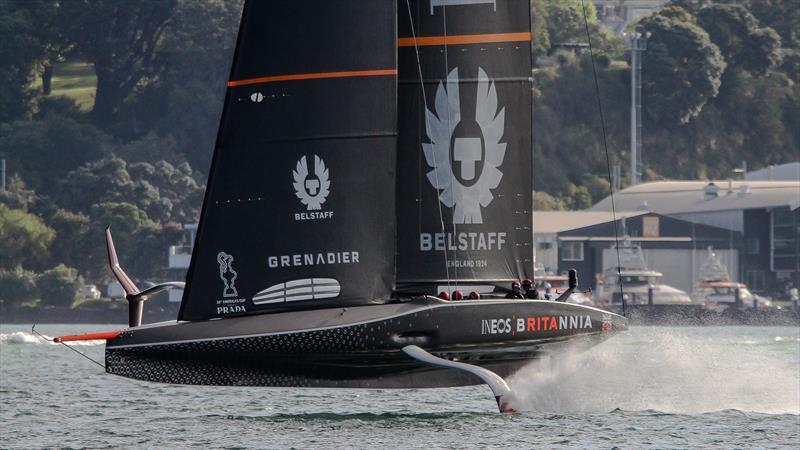 INEOS Team UK - Waitemata Harbour - November 13, 2020 - 36th America's Cup - photo © Richard Gladwell / Sail-World.com