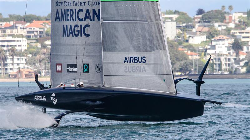 American Magic - Waitemata Harbour - November 13, 2020 - 36th America's Cup - photo © Richard Gladwell / Sail-World.com