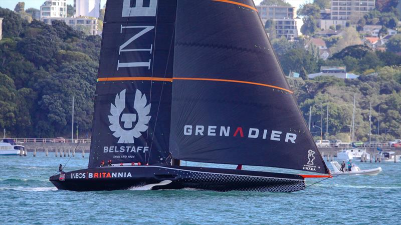 INEOS Team UK - Waitemata Harbour - November 13, 2022 - 36th America's Cup - photo © Richard Gladwell / Sail-World.com