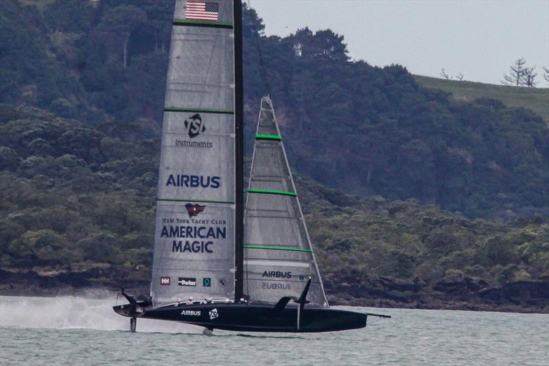 American Magic - Waitemata Harbour - November 16, 2020 - 36th America's Cup - photo © Richard Gladwell / Sail-World.com