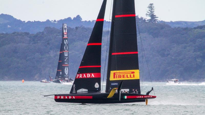 Luna Rossa Prada Pirelli - November 16, 2020 - Waitemata Harbour - Auckland - 36th America's Cup - photo © Richard Gladwell / Sail-World.com
