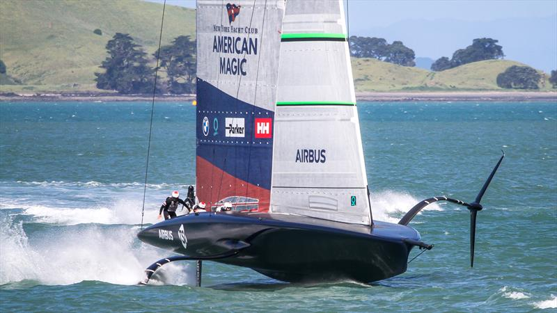 American Magic - Waitemata Harbour - November 17, 2020 - 36th America's Cup - photo © Richard Gladwell / Sail-World.com
