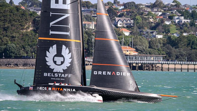 INEOS Team UK - Waitemata Harbour - November 17, 2020 - 36th America's Cup - photo © Richard Gladwell / Sail-World.com