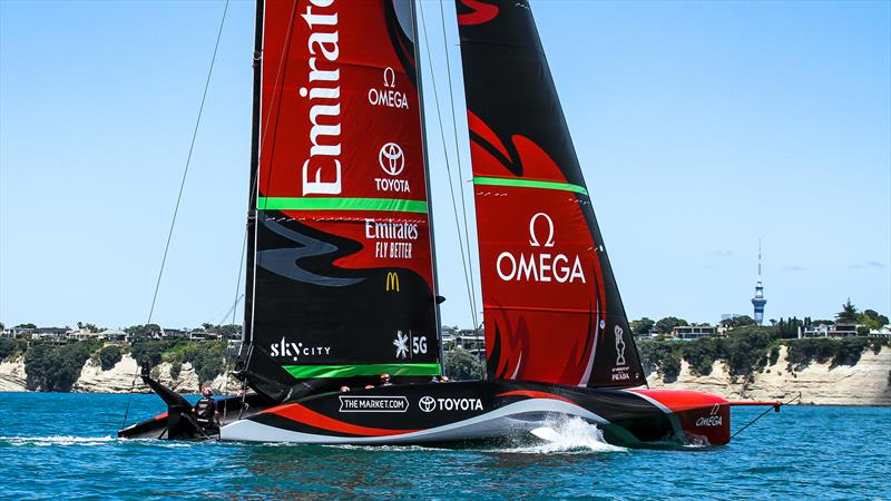 Emirates Team New Zealand AC75 - Te Rehutai - November 20, 2020 photo copyright Richard Gladwell / Sail-World.com taken at Royal New Zealand Yacht Squadron and featuring the AC75 class