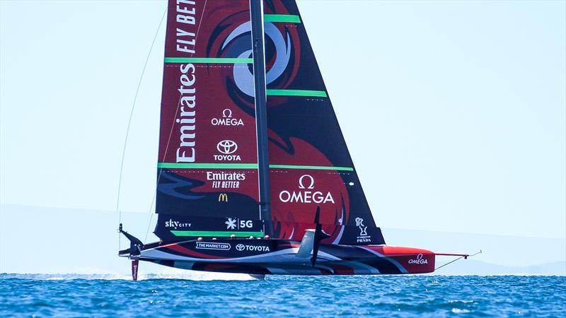Emirates Team New Zealand AC75 - Te Rehutai - November 20, 2020 - photo © Richard Gladwell / Sail-World.com