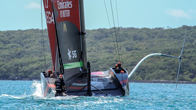 Emirates Team New Zealand AC75 - Te Rehutai - November 20, 2020 - photo © Richard Gladwell / Sail-World.com