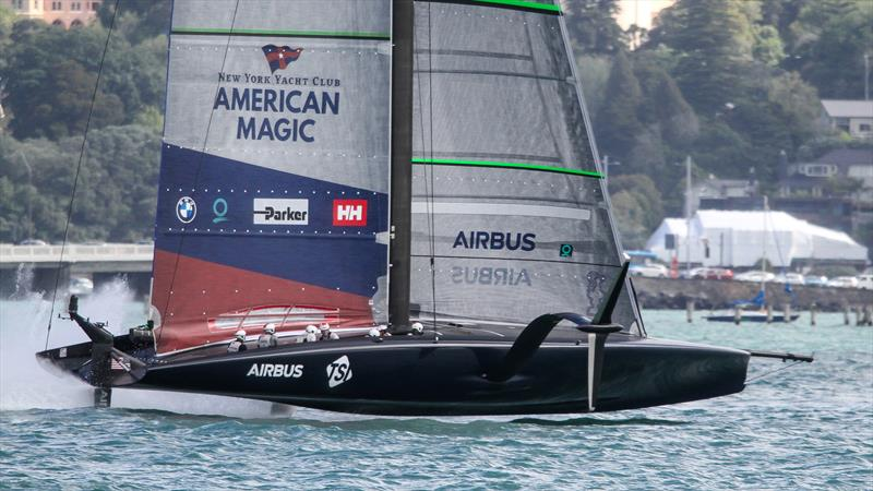 Patriot - American Magic - Waitemata Harbour - November 26, 2020 - 36th America's Cup - photo © Richard Gladwell / Sail-World.com