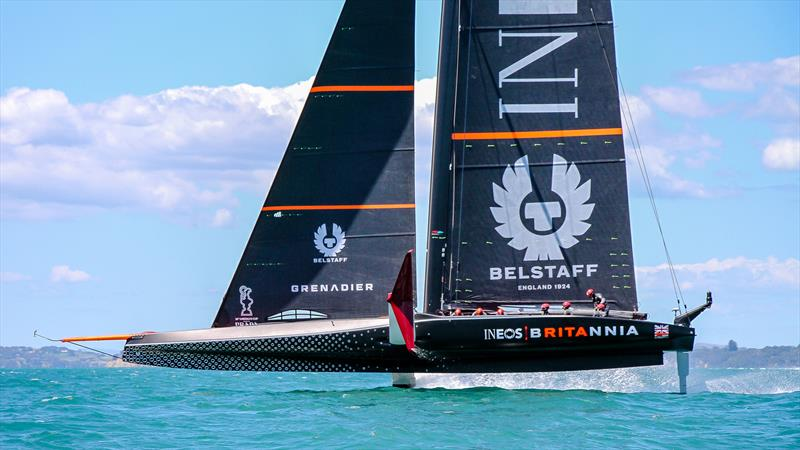 INEOS Team UK - Waitemata Harbour - November 20, 2020 - 36th America's Cup - photo © Richard Gladwell / Sail-World.com