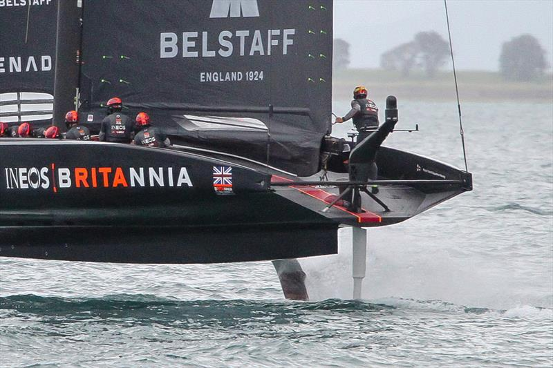 INEOS Team UK - Waitemata Harbour - November 30, 2020 - 36th America's Cup - photo © Richard Gladwell / Sail-World.com