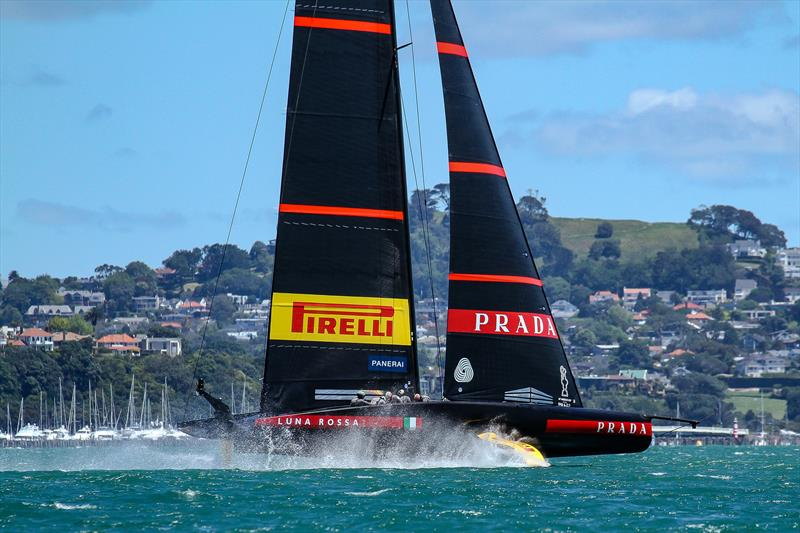 Luna Rossa Prada Pirelli - November 2020 - Waitemata Harbour - Auckland - 36th America's Cup - photo © Richard Gladwell / Sail-World.com