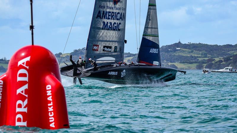 American Magic - Patriot - Waitemata Harbour - December - 36th America's Cup - photo © Richard Gladwell / Sail-World.com