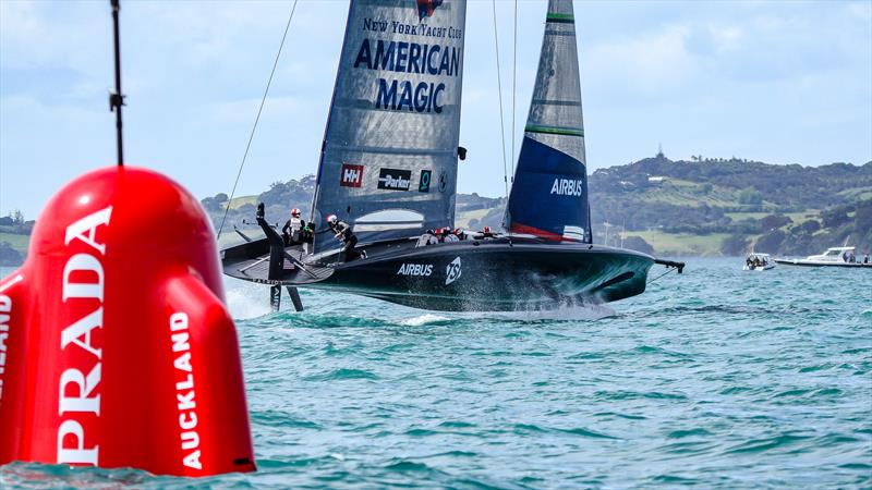 Patriot - American Magic - Practice Day 1 - Practice Day 1 - ACWS - December 8, 2020 - Waitemata Harbour - Auckland - 36th America's Cup - photo © Richard Gladwell / Sail-World.com