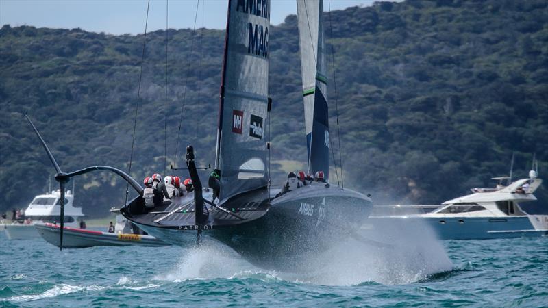 Te Rehutai - Emirates Team New Zealand - Practice Day 1 - ACWS - December 8, 2020 - Waitemata Harbour - Auckland - 36th America's Cup - photo © Richard Gladwell / Sail-World.com
