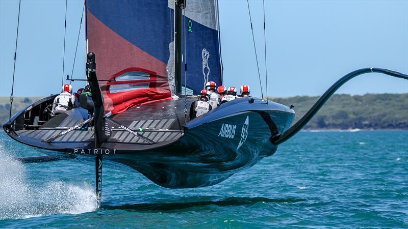 American Magic - America's Cup World Series Practice - Waitemata Harbour - December 15, 2020 - 36th Americas Cup - photo © Richard Gladwell / Sail-World.com
