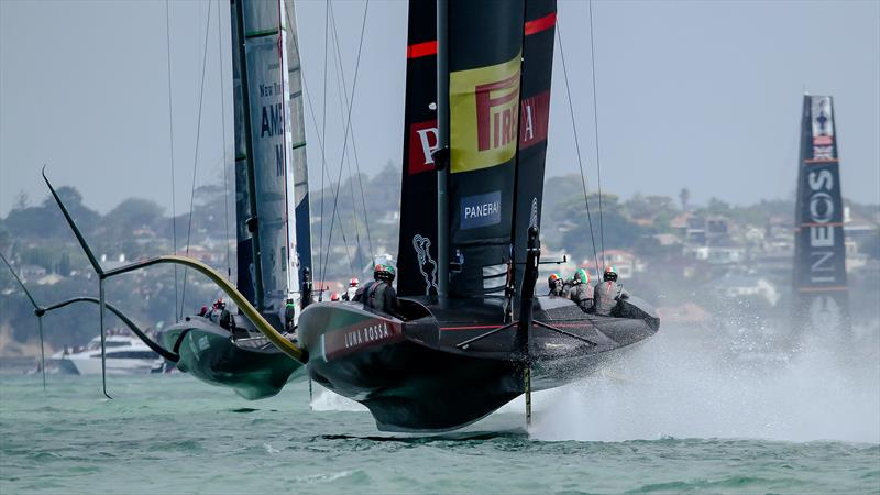 America's Cup World Series - Day 2 - Waitemata Harbour - December 18, 2020 - 36th Americas Cup presented by Prada - photo © Richard Gladwell / Sail-World.com