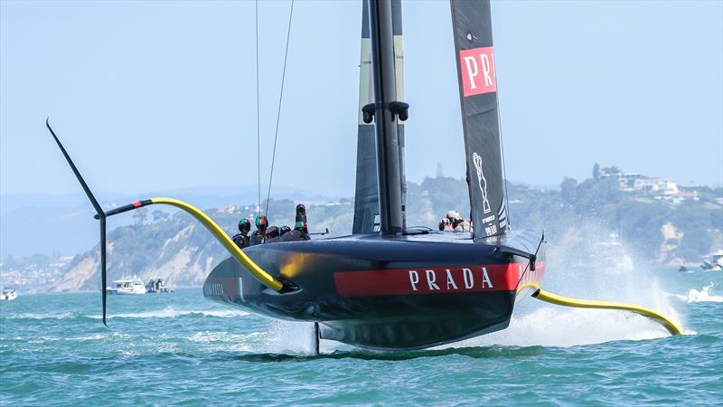 Luna Rossa Prada Pirelli - December 2020 - Waitemata Harbour - Auckland - 36th America's Cup - photo © Richard Gladwell / Sail-World.com