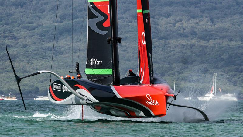 Te Rehutai, Emirates Team New Zealand - America's Cup World Series - December 2020 - Waitemata Harbour - America's Cup 36 - photo © Richard Gladwell / Sail-World.com