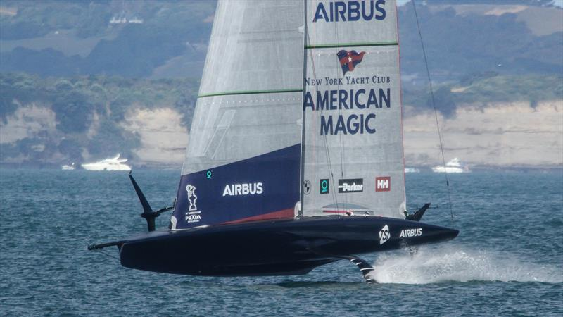 American Magic  - Auckland - January 5, 2021 - 36 America's Cup - photo © Richard Gladwell / Sail-World.com