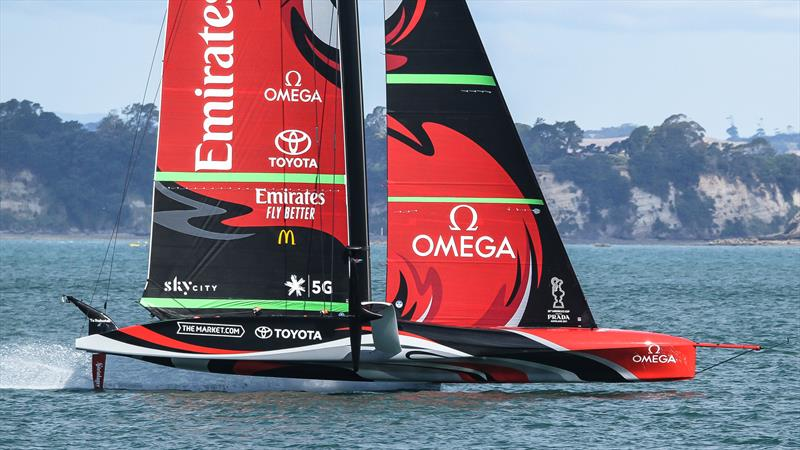 Emirates Team New Zealand - January 5, 2020 - Hauraki Gulf - America's Cup 36 - photo © Richard Gladwell / Sail-World.com
