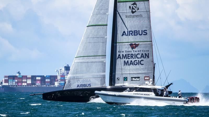 American Magic - January 5, 2020 - Hauraki Gulf - America's Cup 36 - photo © Richard Gladwell / Sail-World.com