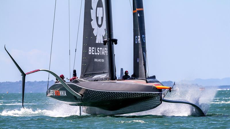 INEOS Team UK - Day 1 - Prada Cup - Qualifiers - January 15, 2021 - 36 America's Cup - photo © Richard Gladwell / Sail-World.com