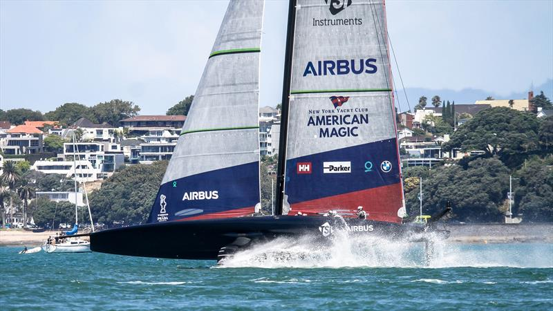 American Magic - Race 1 - Day 1 - Prada Cup - Qualifiers - January 15, 2021 - 36 America's Cup - photo © Richard Gladwell / Sail-World.com