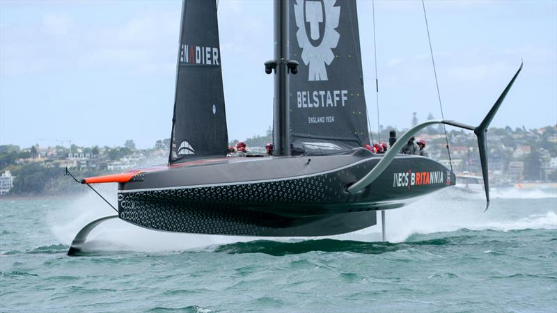 INEOS Team UK - Waitemata Harbour - January 29, 2021 - Buildup - 36th America's Cup - photo © Richard Gladwell / Sail-World.com