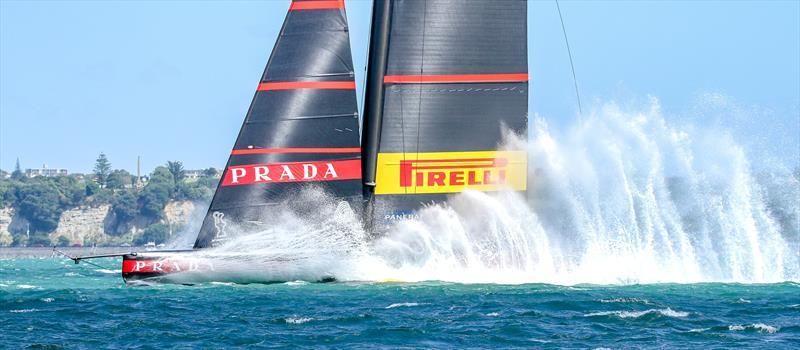 Luna Rossa Prada Pirelli - Semi-Final - Day 1 - Hauraki Gulf - January 29, 2021 - Auckland - 36th America's Cup - photo © Richard Gladwell / Sail-World.com