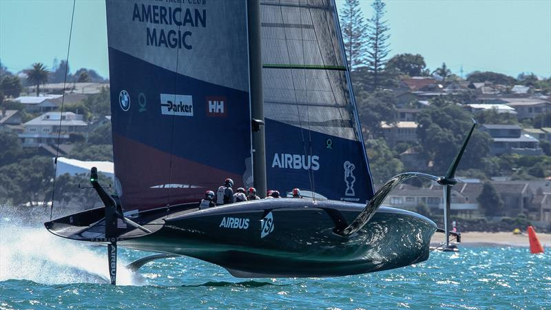 American Magic - Patriot - Waitemata Harbour - January 30, 2021 - 36th America's Cup - photo © Richard Gladwell / Sail-World.com