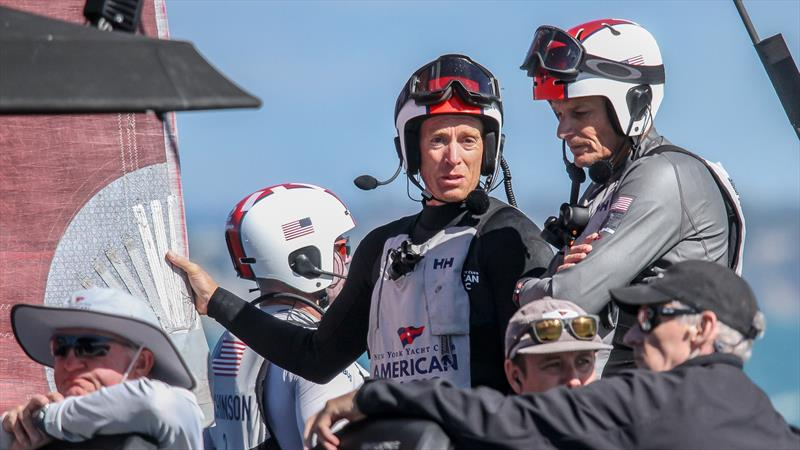 American Magic - Patriot - Waitemata Harbour - January 27, 2021 - 36th America's Cup - photo © Richard Gladwell / Sail-World.com
