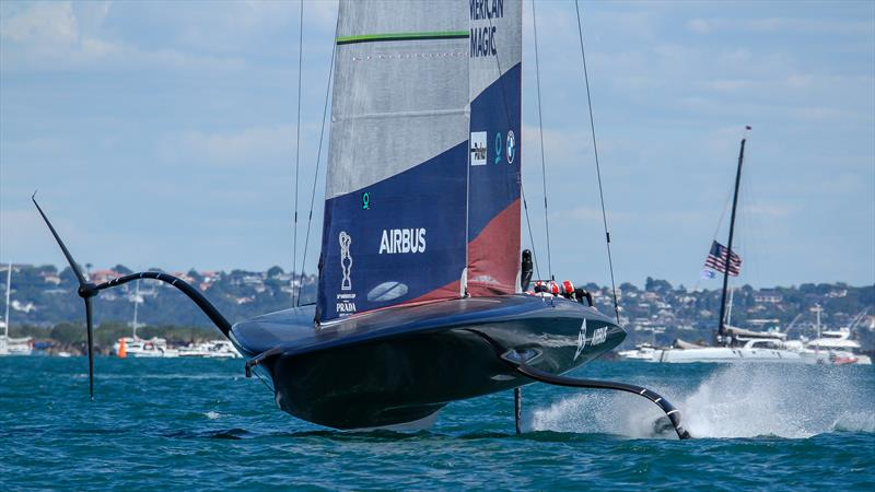 America's Cup: American Magic ready to sail at 7-8 days notice if Auckland gets the AC37 venue nod