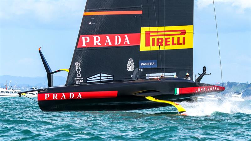 Luna Rossa - Prada Cup Finals - Day 4 - February 21, 2021- America's Cup 36 - Course A - photo © Richard Gladwell / Sail-World.com