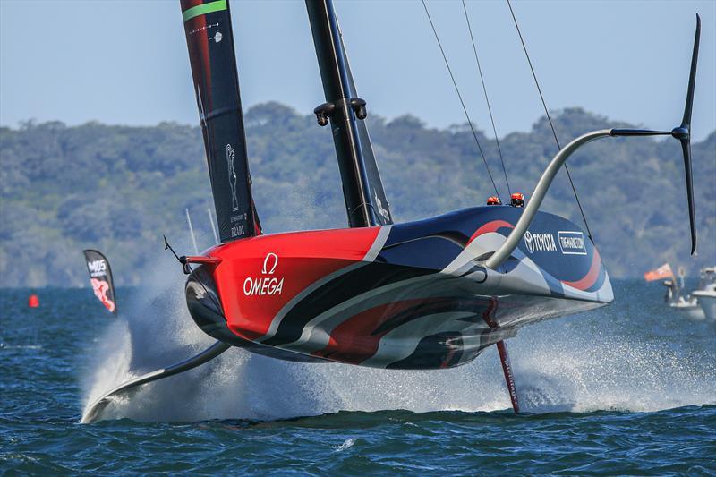 ETNZ Flying High. - photo © Emirates Team New Zealand