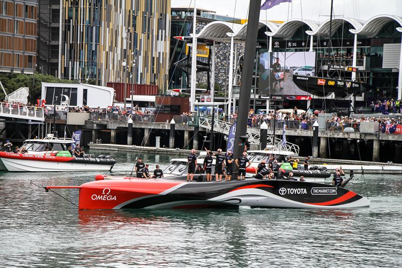 Emirates Team NZ - America's Cup - Day 6 - March 16, 2021, Course C - photo © Richard Gladwell / Sail-World.com