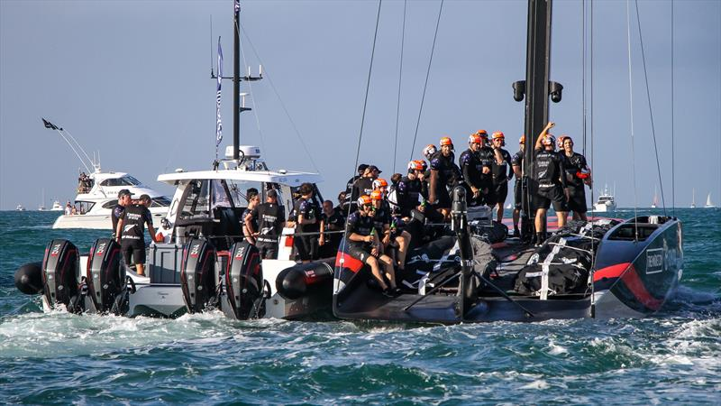 Emirates Team NZ - America's Cup - Day 7 - March 17, 2021, Course A - photo © Richard Gladwell / Sail-World.com
