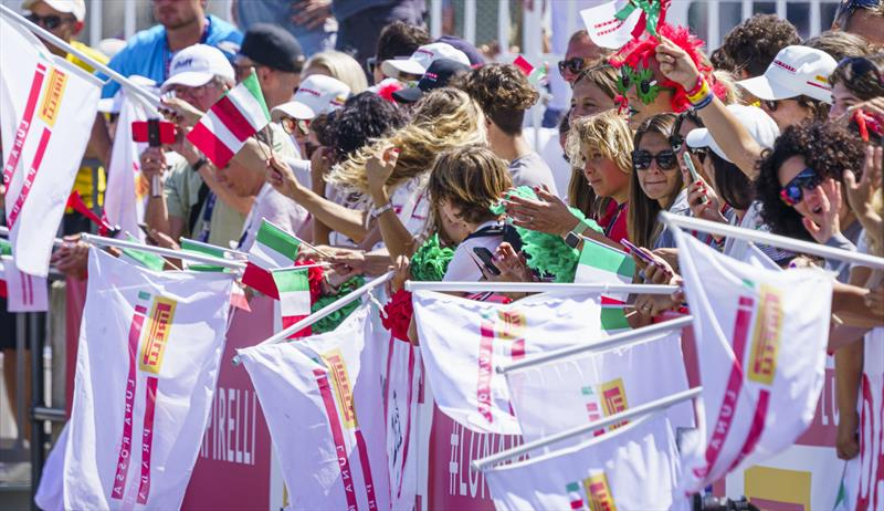 America's Cup Match - Dockside - Luna Rossa Prada Pirelli Team Supporters - photo © ACE / Studio Borlenghi
