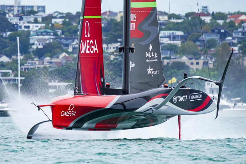Emirates Team NZ will build a foiling chase boat using technology from three cycles of foiling sailing America's Cup classes - photo © Emirates Team New Zealand