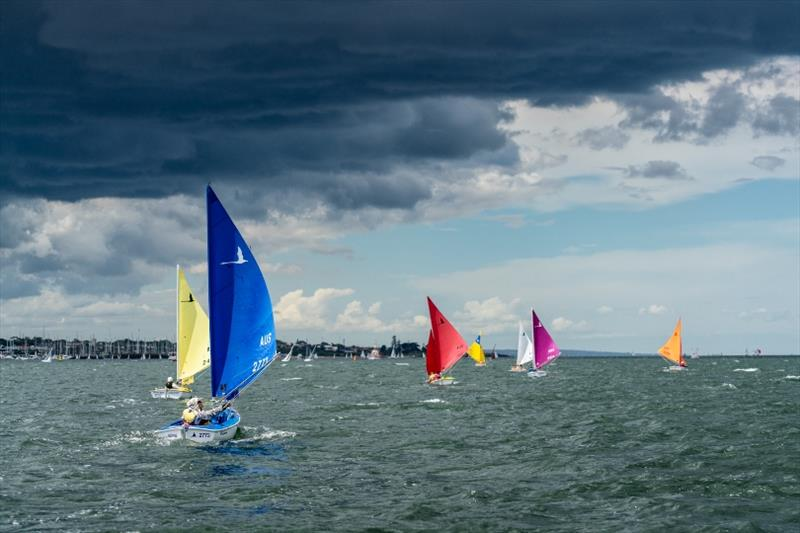 Hansa 303 fleet - 2018 Sail Melbourne International, Day 4 - photo © Beau Outteridge