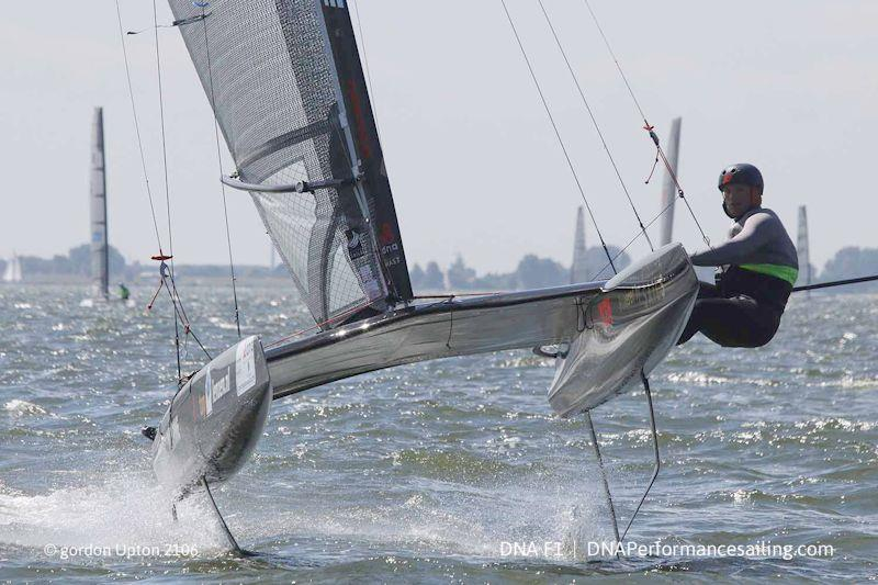 The A Class cat of today is a wonderful testament to the path of continuous development in multi-hulls with the full foilers reaching incredible speeds. In heading down this path, did they leave the broader base of support behind? - photo © Gordon Upton / DNA