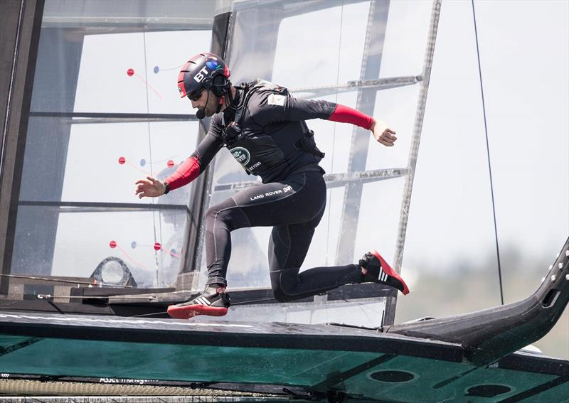 Sir Ben Ainslie has got Land Rover BAR off to a fast start in the 36th America's Cup in Auckland.  - photo © Lloyd Images