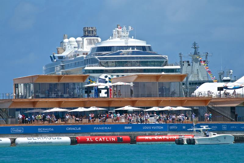 America's Cup Village and VIP area - Bermuda - photo © Richard Gladwell