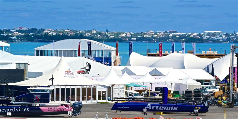 America's Cup Village in Bermuda - a project that took three years to complete - photo © Scott Stallard