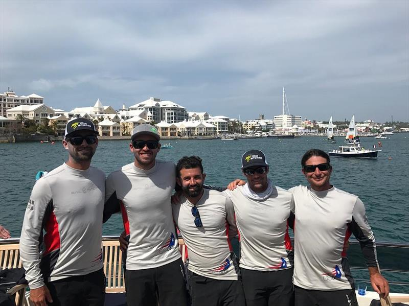 The USone/Team USA 21 line-up at the Argos Bermuda Gold Cup - photo © USAone