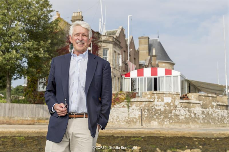 John Marshall - America's Cup Hall of Fame Induction, Royal Yacht Squadron, Cowes IOW, August 31, 2018 - photo © Carlo Borlenghi